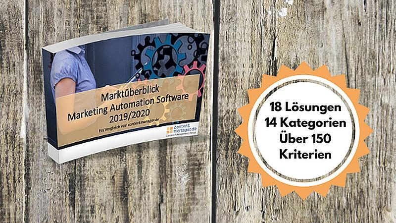 Vergleich von 18 Marketing-Automation-Tools