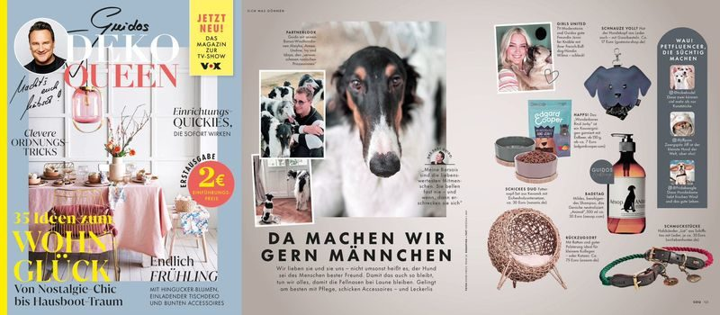 Neues Lifestyle- und Promi-Magazin: »Guidos Deko Queen«